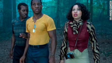 Courtney B. Vance, Jonathan Majors and Jurnee Smollett in 'Lovecraft Country.'