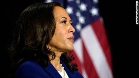 Su. Kamala Harris is not only the first Black woman on a major party's presidential ticket but also the first Indian American.