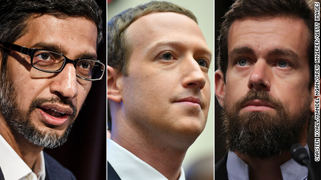 Senate Commerce votes to issue subpoenas to CEOs of Facebook, Google and Twitter