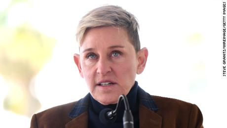 Ellen DeGeneres spoke in better times as Pink was honored with a star on the Hollywood Walk of Fame on Feb. 5, 2019, in L.A.