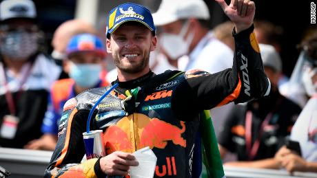 Brad Binder says he doesn't like thinking about how much damage the crash could have caused.