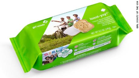 French toast girl scout cookie package