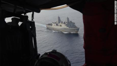 Rare footage shows US patrol of South China Sea
