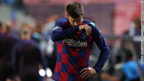 Pique has called for organisatonal change at Barcelona