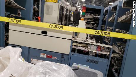 These are the sorting machines USPS removed that would handle mail and election ballots