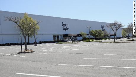 A closed Lord & Taylor department store in Garden City, New York.