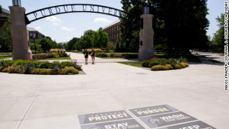 Purdue University students suspended after attending off-campus party, school officials say