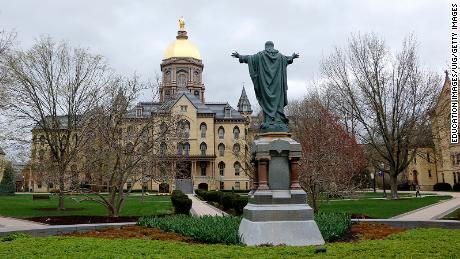 Notre Dame responds to student newspaper's Covid-19 plea