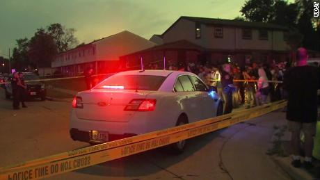 "KENOSHA, Wis. (CBS 58) -- An officer-involved shooting investigation is underway in Kenosha on Sunday, Aug. 23. A large crowd took to the street to protest following the shooting. It happened near 28th Avenue and 40th Street around 5:11 p.m., after officers were called for a ""domestic incident."" According to police, officers provided immediate aid to the person after the shooting. The person was transported via Flight for Life to Froedtert in Milwaukee in serious condition. Graphic video of the shooting is circulating on social media. People at the scene told CBS 58 the victim is a man and a father. ""I know he's got kids and a girl. I never had a problem with him. I always see him everyday. Parks right behind me on the street,"" said Aaron, a neighbor. ""It goes back to the Emmett Tills. We're tired of it. Rodney King. We're tired of it. And right now, this is the wrong generation that this is happening to. The frustration is boiling to the top and we're sick and tired,"" said Clyde McLemore, Black Lives Matter of Lake County, Illinois."