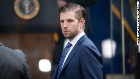 New York AG seeks to depose Eric Trump in investigation of Trump's finances