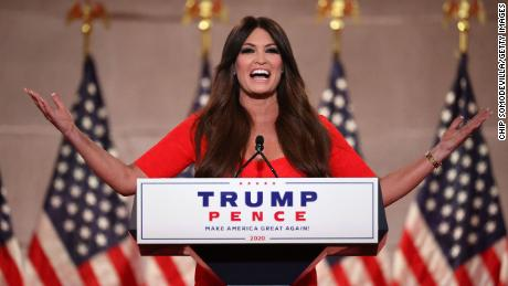 Kimberly Guilfoyle's RNC speech 'a memorable moment'