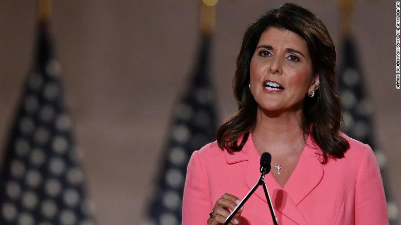 Nikki Haley says Trump's post-election actions will be 'judged harshly by history'