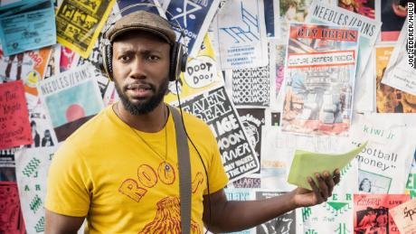 "Lamorne Morris stars in ""Woke,"" which draws humor from a Black cartoonist's political awakening."