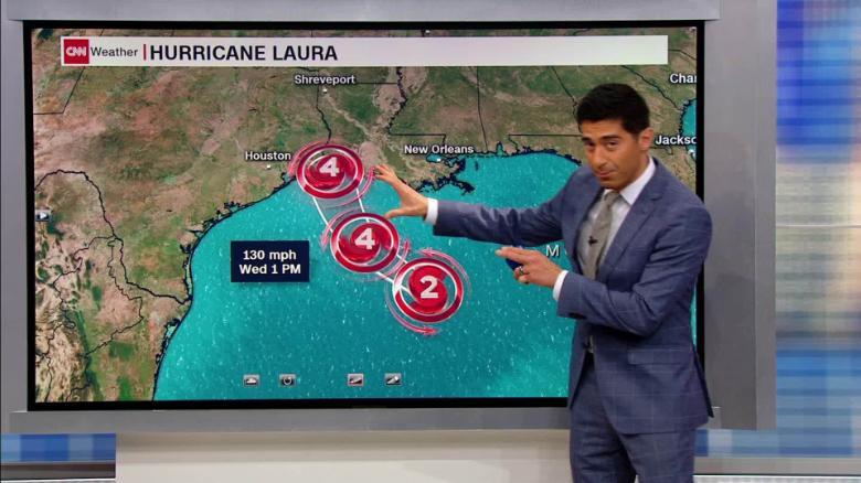 Laura gains strength, could bring 'unsurvivable' storm surge
