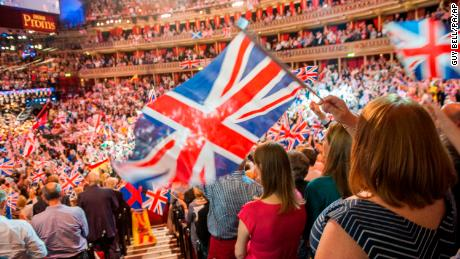 """The BBC has ditched the lyrics of flag-waving anthem """"Rule, Britannia!"""" for its traditional summer concert the """"Proms,"""" sparking a toxic debate."""
