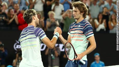 Alexander Zverev achieved his best career Grand Slam result earlier this year when he reached the semifinals of the Australian Open, losing to eventual runner-up Dominic Thiem.