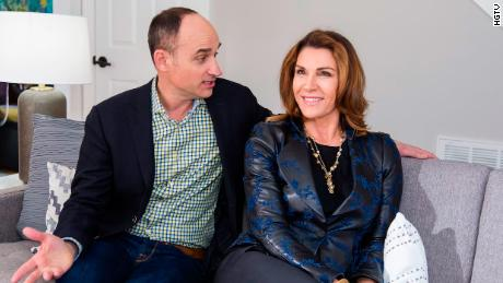 David Visentin and Hilary Farr in 'Love It or List It.'