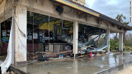 Damage to the Golden Nugget Hotel in Lake Charles, LA