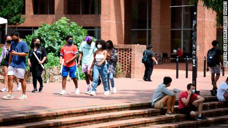 Covid-19 cases surge among college-age people, studies say