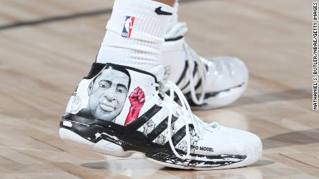 Nuggets star says shoes with images of Breonna Taylor and George Floyd 'give me life' after scoring 50 points
