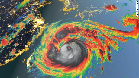 Typhoon Maysak is forecast to strengthen as it moves toward Japan and the Korean Peninsula
