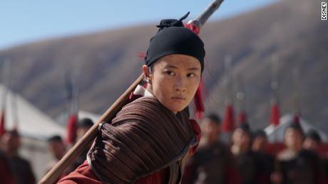 "Yifei Liu in ""Mulan."""