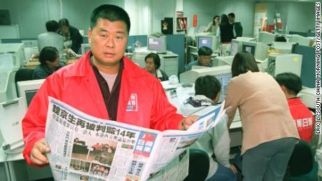 Jimmy Lai in December 1995.