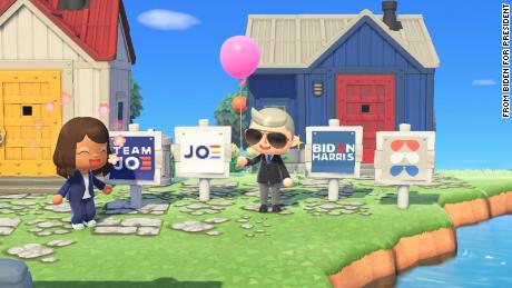 'Animal Crossing' players can deck their virtual yards with Joe Biden campaign signs
