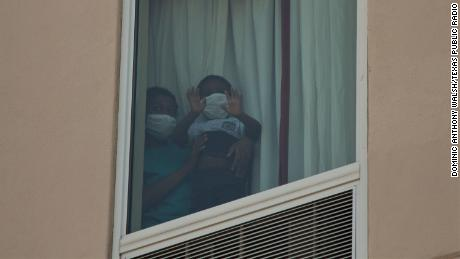 The US detained hundreds of migrant children in hotels as the pandemic flared