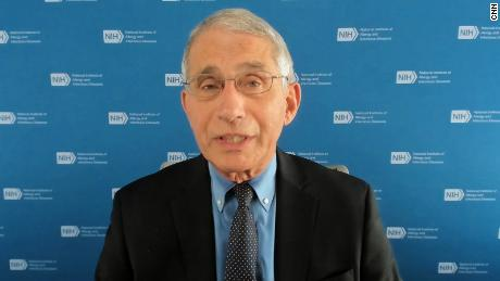 Dr. Anthony Fauci says designating quarantine spaces for students who test positive for Covid-19 is key to safely opening colleges