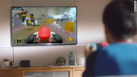 "A photo of ""Mario Kart Live: Home Circuit."""