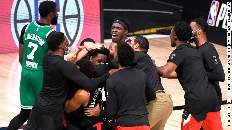 The Boston Celtics believed they had sealed the win after taking the lead with 0.5 seconds left. But the Raptors' clutch play won the day.