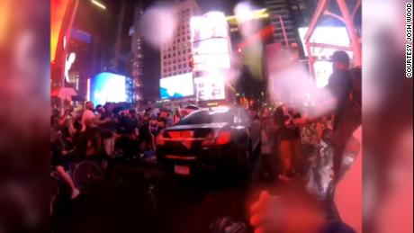 NYPD investigating car that plowed into a group of BLM protesters in Times Square