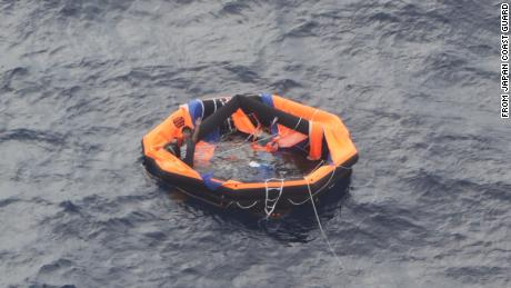 Third crew member rescued from ship capsized off Japan