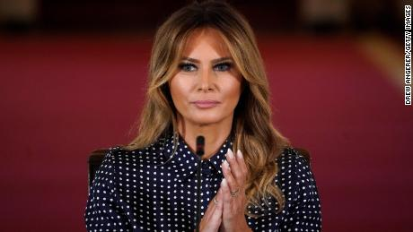 Melania Trump favorability remains same, according to new poll