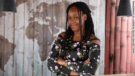 26-летняя девушка стала первой женщиной, получившей награду за инновации в Африке Королевской инженерной академии.