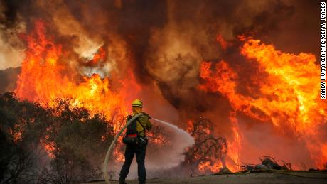 Wildfires force evacuation of entire town in central California