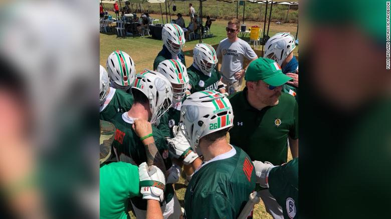 Ireland's lacrosse team gives its spot in an international tournament to a Native American team