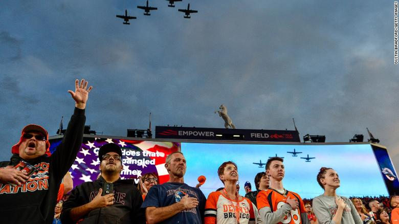 Denver Broncos will allow a limited number of fans, joining several NFL teams in welcoming spectators