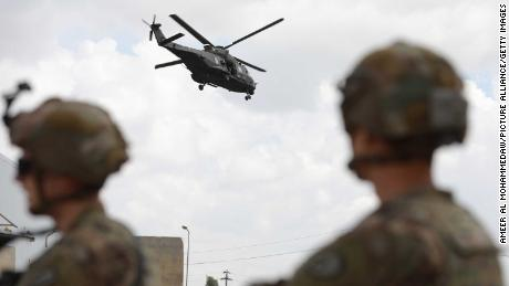 US announces troop drawdown in Iraq