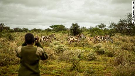 Meet eight Maasai rangers -- the first women in their families to get jobs --  fighting poaching around Kenya's Amboseli National Park