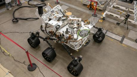 Meet OPTIMISM, the Perseverance rover's twin on Earth