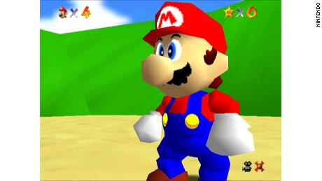 """Super Mario 64"" was the first 3D Mario game."