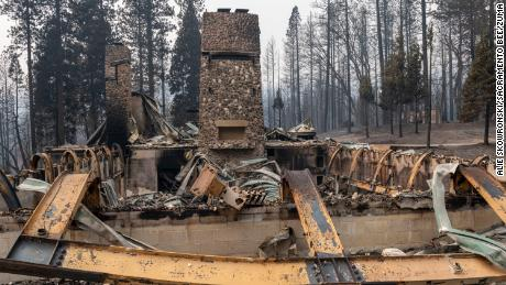 A woodsy getaway camp for kids with cancer goes up in flames in Northern California