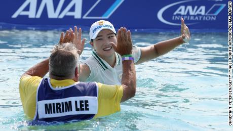 Ana Inspiration: Mirim Lee remporte sa première majeure de golf