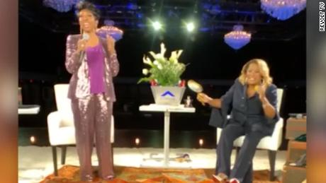 """Patti Labelle and Gladys Knight in the latest """"Verzuz"""" battle."""