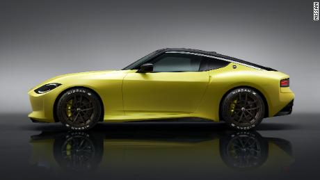 The Nissan Z Proto is intended as a preview of an upcoming Nissan Z model.