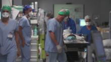 ICUs are nearing capacity in this French city. And it's only September