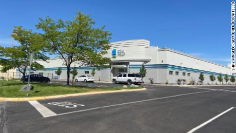 Gem Prep Pocatello charter school opened last year in a former Sears store in the Pine Ridge Mall in Chubback, Idaho.