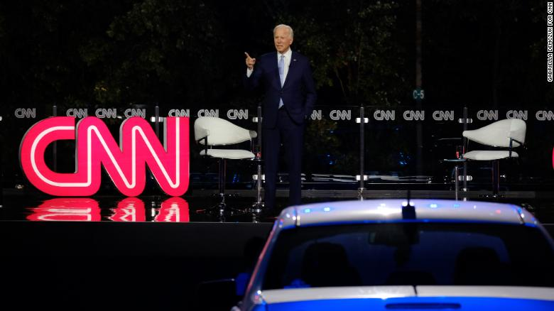 This was the most important (and powerful) moment in Joe Biden's CNN's town hall